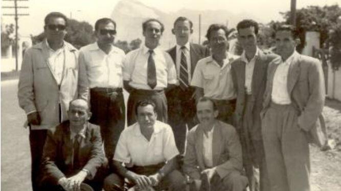 Celebración del segundo aniversario de la Calabaza, el 7 de septiembre de 1958.