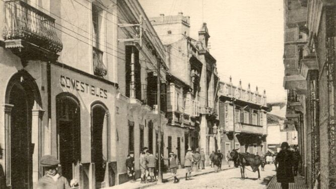 En la calle Imperial o Alfonso XI, vivía el sangrador Juan González.