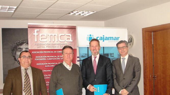 """Cajamar y Femca firman un convenioCSIF pide """"una mejora salarial notable"""""""