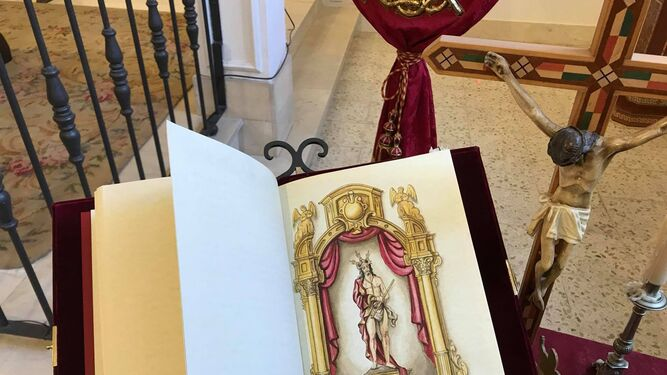 Nuevas pinturas, en el Libro de Reglas de la hermandad de Las Colinas.