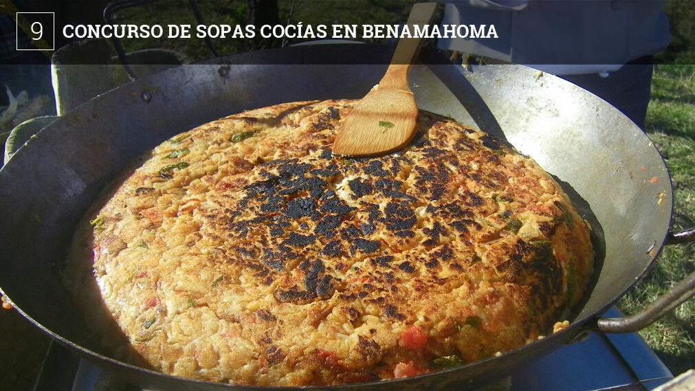 Benamahoma celebra el sábado su concurso de sopas cocías, un plato singular de la localidad y que es una especie de ajo caliente pero muy denso, tanto que se convierte en casi una tortilla.