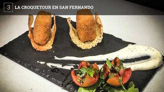 24 bares de San Fernando toman parte a partir de hoy viernes y hasta el 4 de marzo en la Croquetour, una ruta gastronómica dedicada a la croqueta. Cada bar ofrecerá una tapa de croquetas acompañada de bebida por 3 euros.