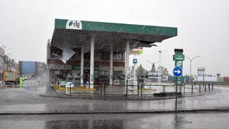 Las imágenes del temporal