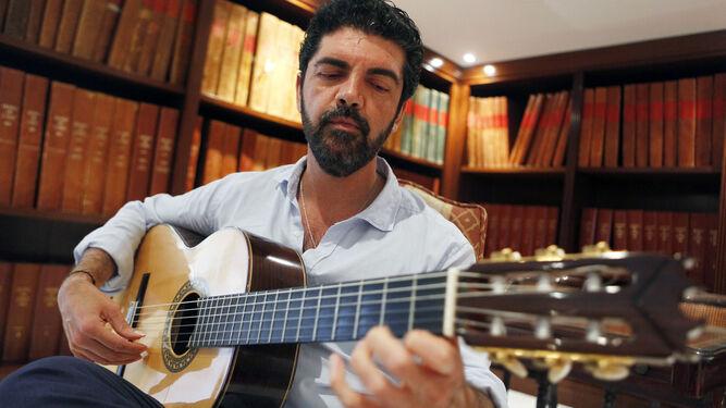 El guitarrista algecireño José Carlos Gómez.