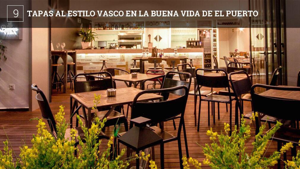Desde el día 13 y hasta el próximo 25 de marzo, La Buena Vida de El Puerto (Calle Girasol, en Vistahermosa) ofrecerá pintxos vascos, clásicos y vanguardistas, y también txakolí, un vino blanco muy popular en esta zona.