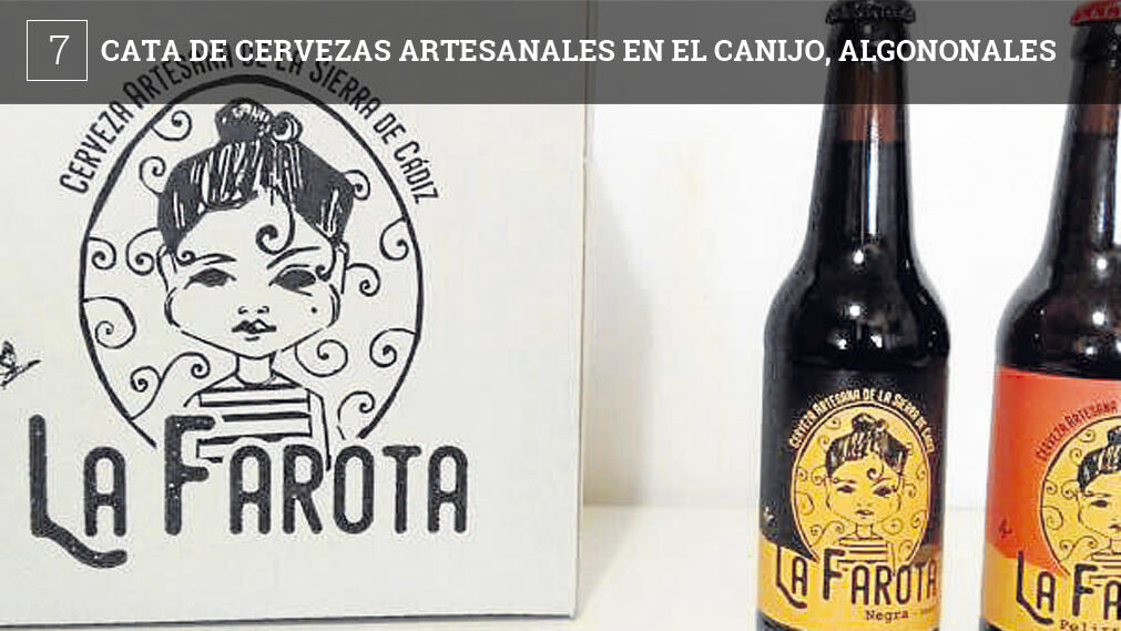 El bar El Canijo de Algodonales (avenida de la Constitución) ofrece el próximo día 15 de marzo (jueves) una cata en la que juntarán cervezas artesanales, música en directo y tapas del establecimiento.