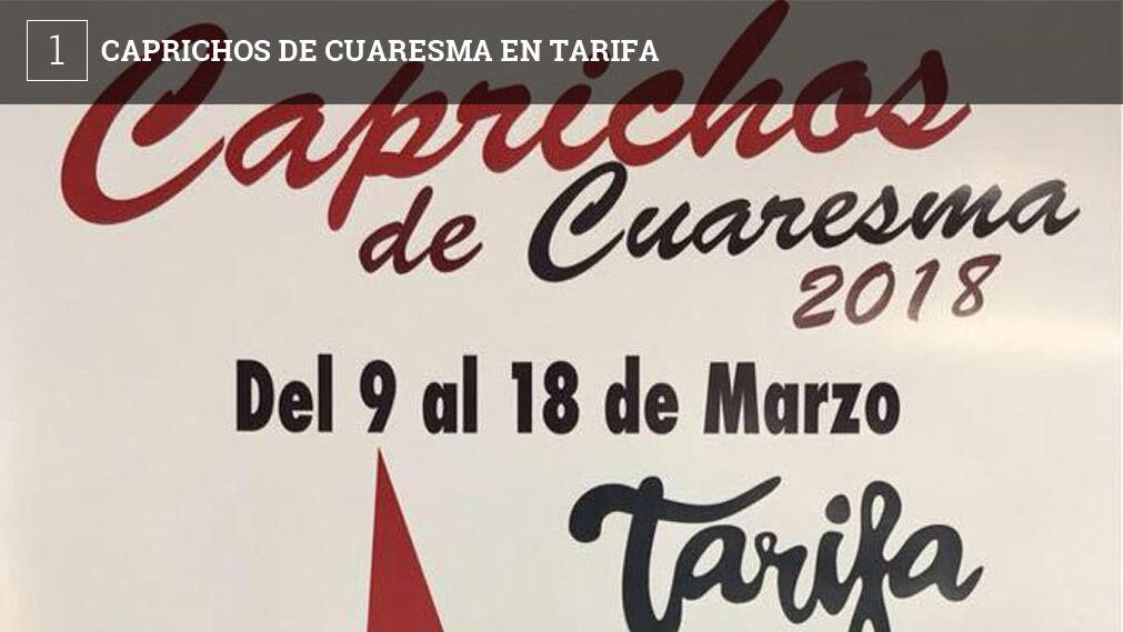 Un total de 15 bares de Tarifa ofrecen desde hoy y hasta el 18 de marzo 'Caprichos de Cuaresma', unas tapas inspiradas en la Semana Santa y que venderán todos a un precio único de 3 euros, la tapa más la bebida.