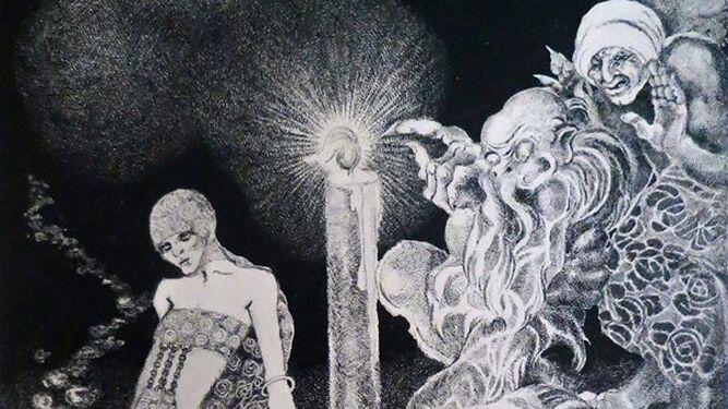 Imagen para 'Rose des Bois', publicado por las dos hermanas en París en 1923.