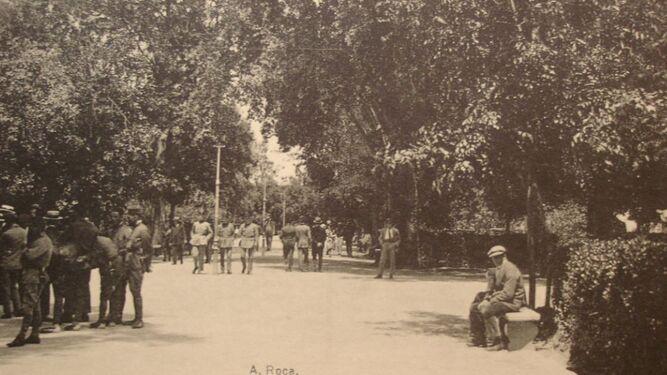Al final de la Alameda o Paseo de Cristina se encontraba la venta Eritaña.