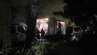 El operativo de búsqueda del guardia civil en Guillena