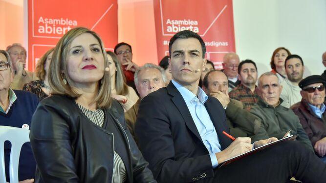 Irene García y Pedro Sánchez.