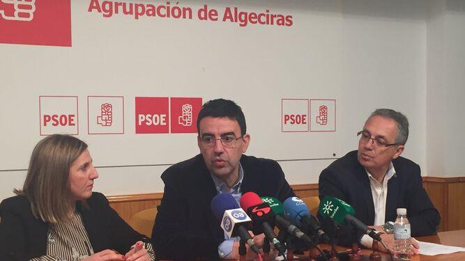 Mario Jiménez, ayer en Algeciras.