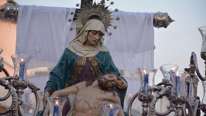 Nuestra Señora de las Angustias, en San Roque.