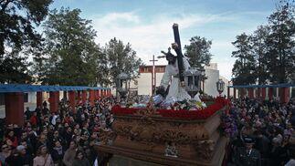 Las imágenes de las Tres Caídas en Algeciras