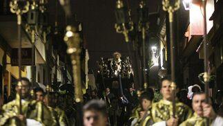 Las imágenes de la Sagrada Mortaja en Algeciras