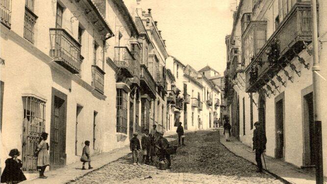 El enfermo Juan de los Santos, vivía en el nº 36 de la calle Larga.