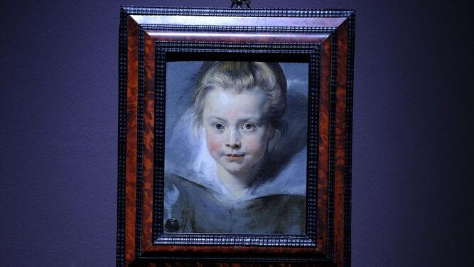 'Retrato de Clara Serena Rubens' (1616), Princely Coll. Liechtenstein.