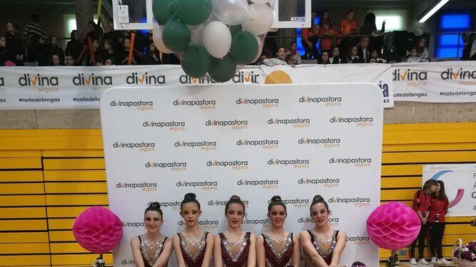 Oro andaluz para la gimnasia de Algeciras