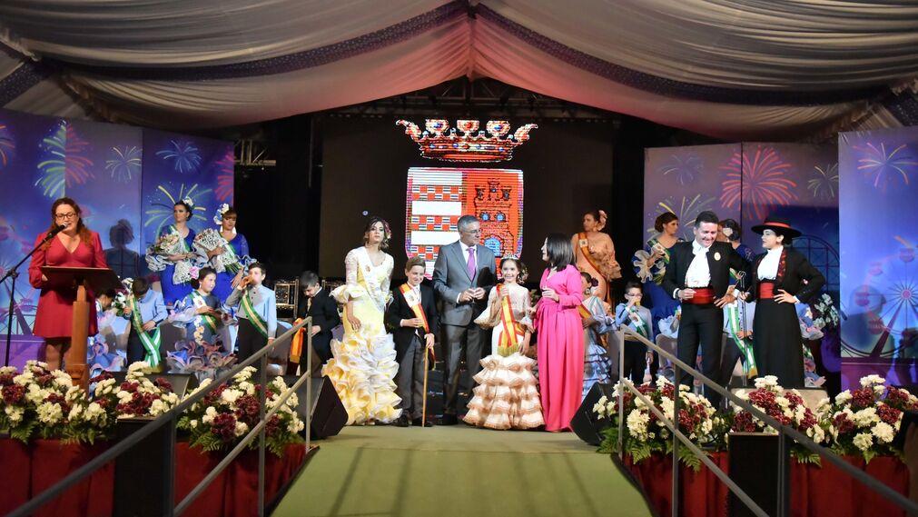 Las imágenes de la gala de apertura de la Feria de Castellar