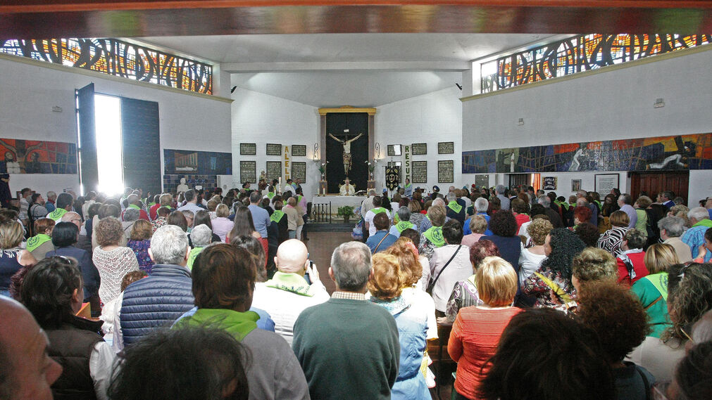 Romería del Cristo de la Almoraima