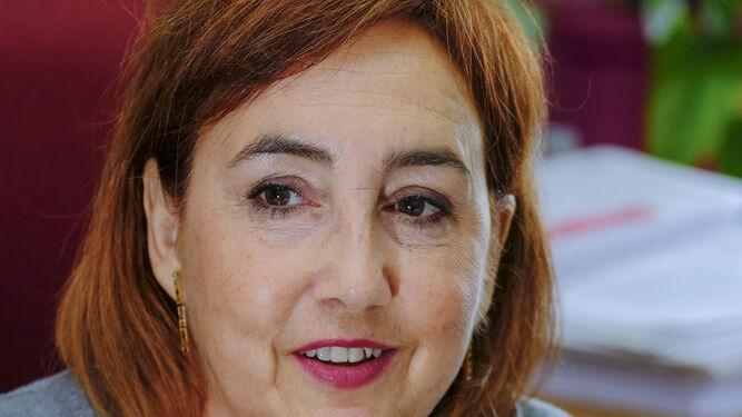 Ana Villagómez, fiscal antidroga, en su despacho.