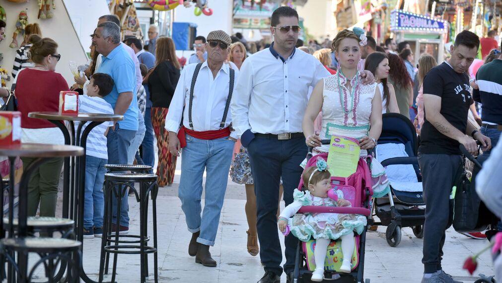Las imágenes del Sábado de Feria en Los Barrios