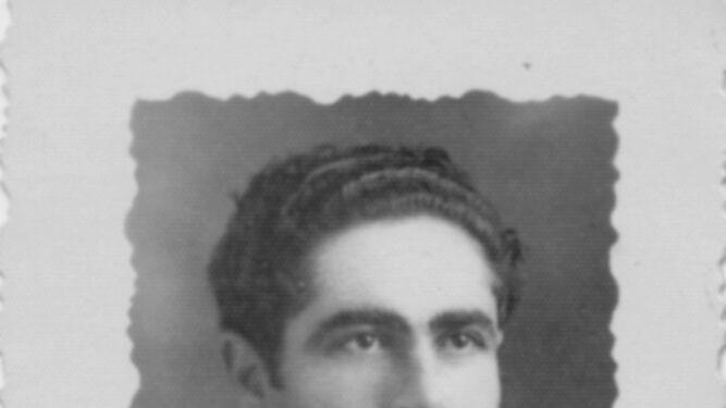 Antonio Cortejosa, en 1945.