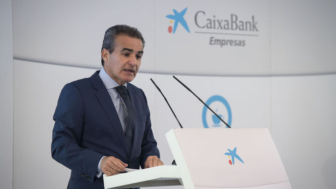 Rafael Herrador, director territorial de CaixaBank en Andalucía Occidental.