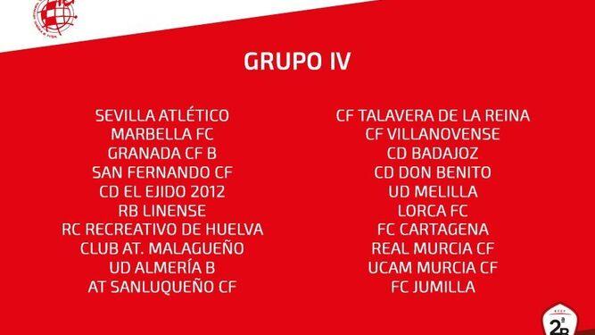 Real Balompédica Linense El Talavera completa el grupo IV de la ...