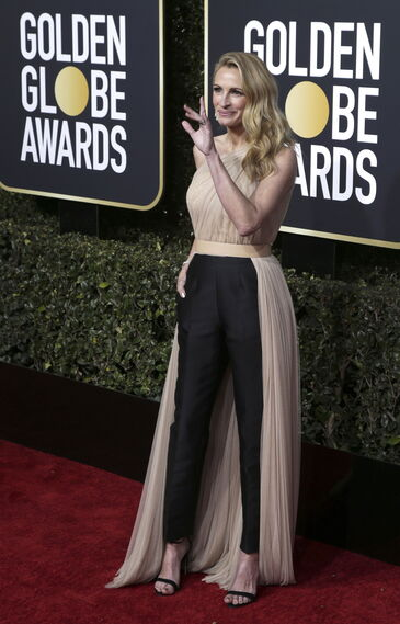 <p>Julia Roberts, de Stella McCartney.</p>