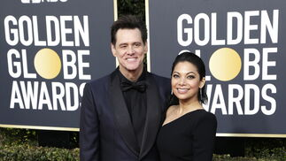 <p>Jim Carrey y Ginger Gonzaga.</p>
