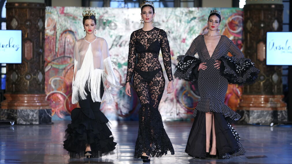 Las fotos del desfile de Úrsula Sanchez en Viva by We Love Flamenco