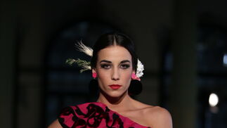 Alba Calderón en Viva by We Love Flamenco, el desfile en fotos