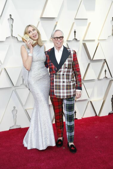 <p>Dee Ocleppo y Tommy Hilfiger</p>