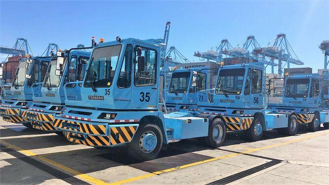 APM Terminals Algeciras compra 116 nuevas tractoras para