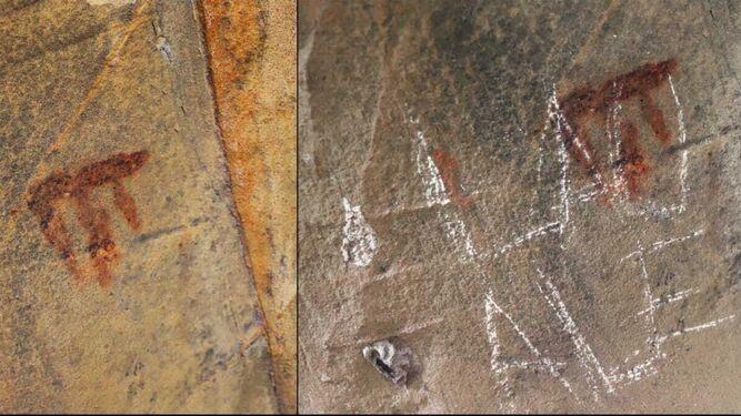 El día que Lau y Ale sellaron su amor sobre una pintura prehistórica en Tarifa