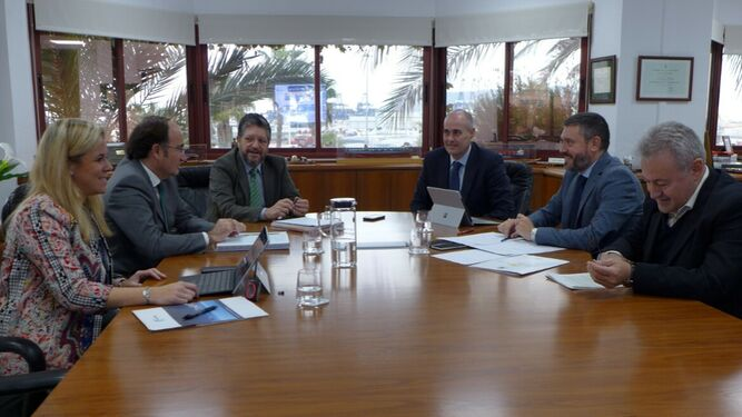 La reunión entre los Puertos de Algeciras y Ceuta.
