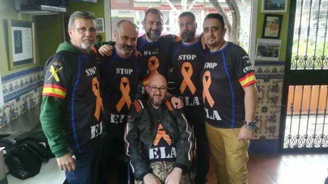 Jesús Fernández Corzo en la Hermandad de Antiguos Caballeros Legionarios