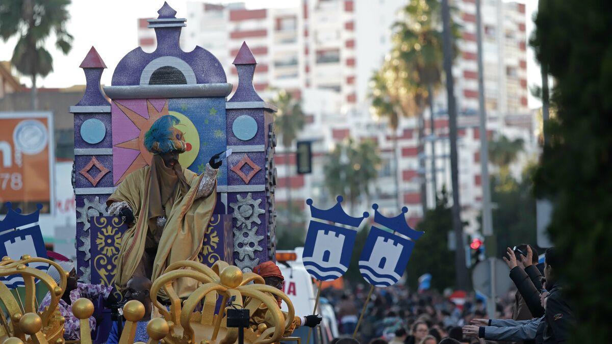 Navidad 2019-2020 El recorrido de la cabalgata de Reyes Magos de Algeciras, en 3D