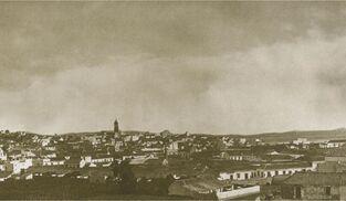 La Algeciras ocupada por Riego mantenía sus límites urbanos medievales.