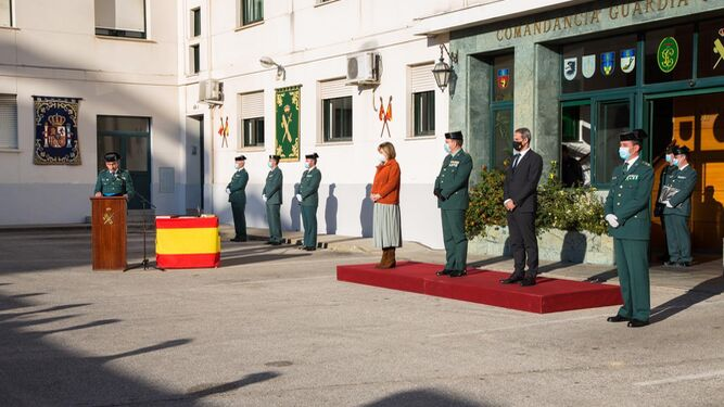 El Coronel Francisco Almansa Toma Posesión Del Mando De La Comandancia De La Guardia Civil De Algeciras