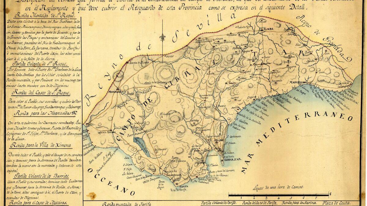 Los inicios del contrabando en el Campo de Gibraltar