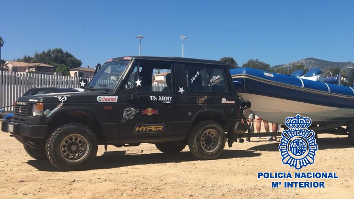 La Policía Nacional detiene a tres personas e investiga a otras dos por blanqueo en Algeciras
