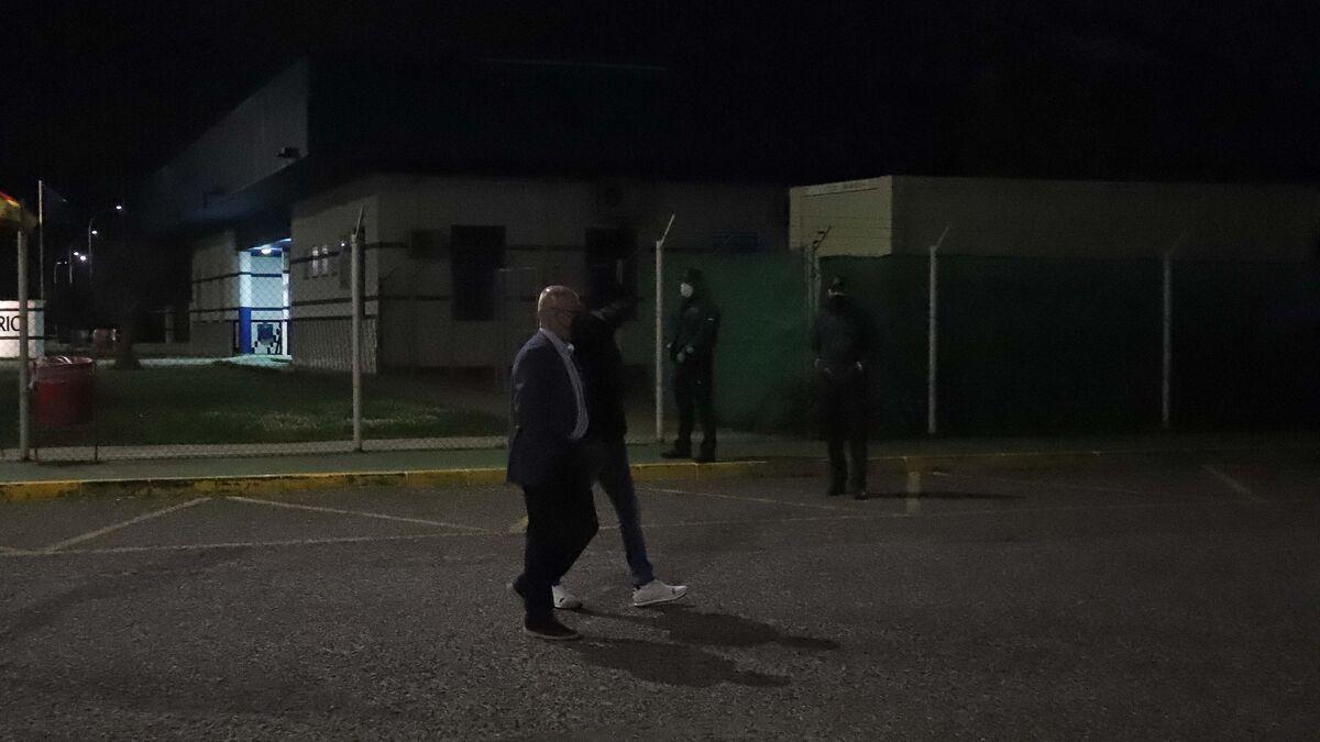 Francisco Tejón sale de la prisión de Botafuegos tras depositar 200.000 euros de fianza