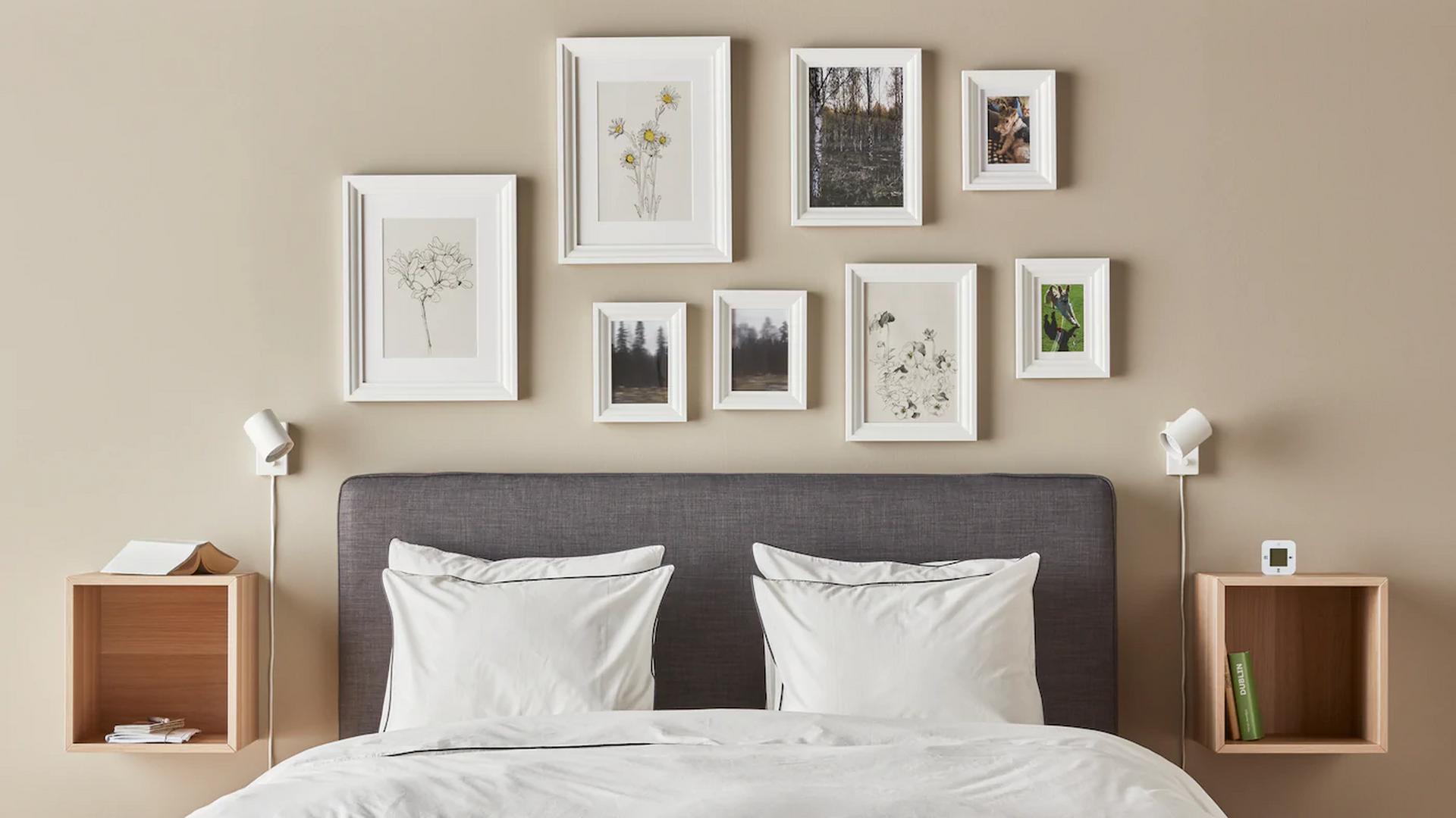 Doce láminas de flores de Ikea para...