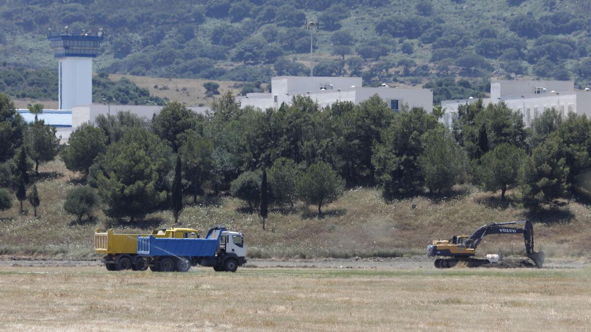 Comienzan los movimientos de tierra para la construcción del nuevo CIE en Algeciras