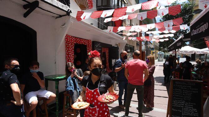 Bares de Algeciras, en homenaje a la Ferial Real.