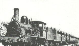 Un tren de la época.