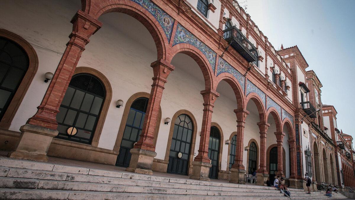 La estación de Jerez de la Frontera.