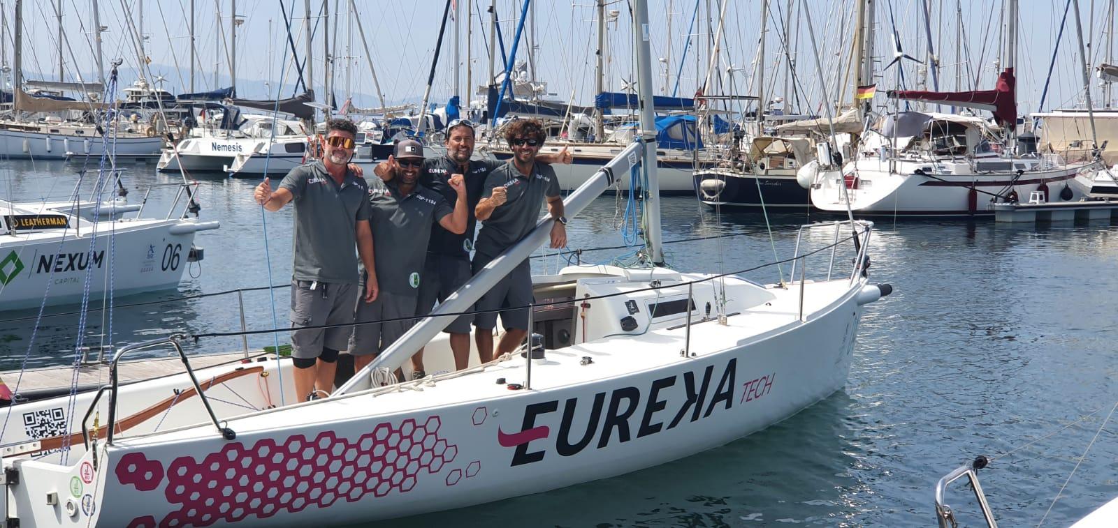La tripulación del 'Eureka Tech'.